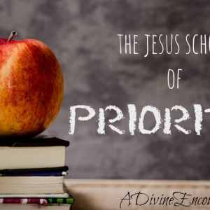 The JESUS School of Priorities