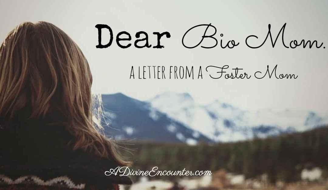 Dear Bio Mom…