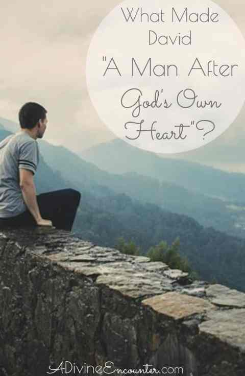 """How did an adulterer and murderer like David earn God's recognition as """"a man after My own heart""""? Insightful post considers this question."""