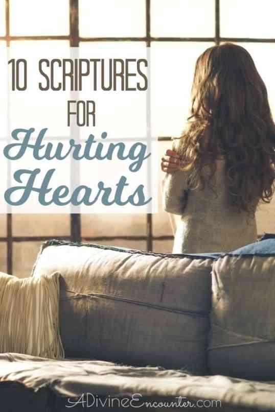 10 Scriptures for Heartbreak