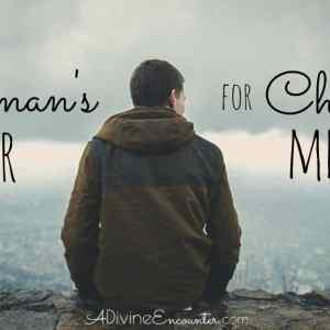 A Woman's Prayer for Christian Men