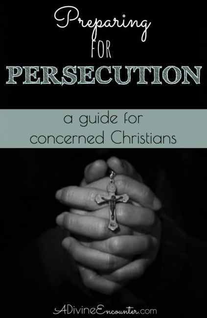 It's possible that Western Christians will soon face persecution. Thoughtful post points Christians toward how they can be preparing for persecution.