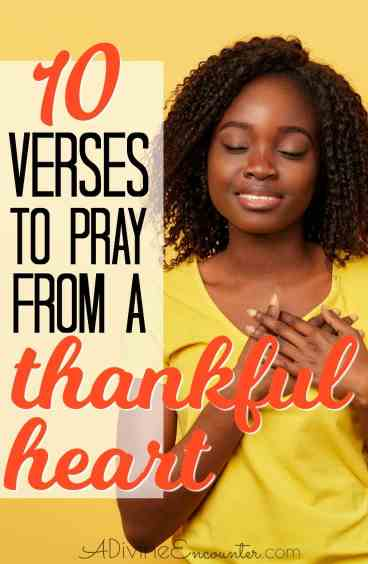 10 Prayers of Thanksgiving