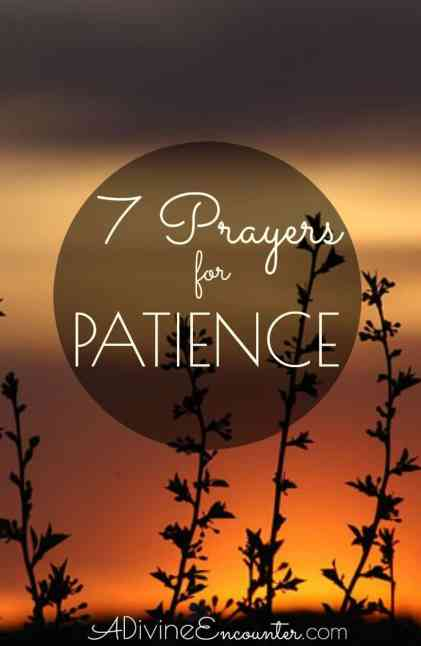 If you're Christian who realizes the need for more patience, why not lift a prayer for patience? Here are 7 prayers for patience from the Bible.