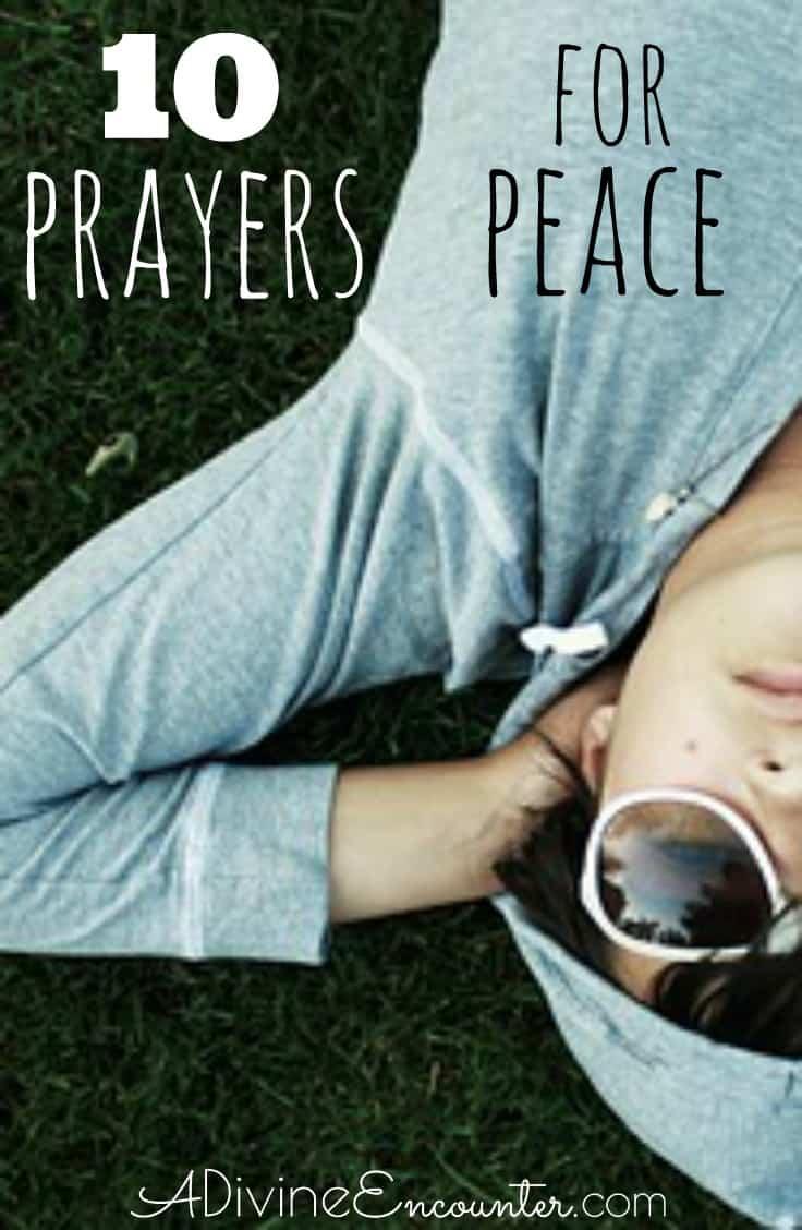 Prayer for Peace - 7 Biblical Prayers
