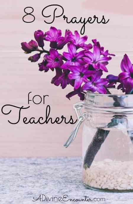 Teachers make a significant impact in our lives. Consider lifting to the Lord these biblical prayers for teachers.