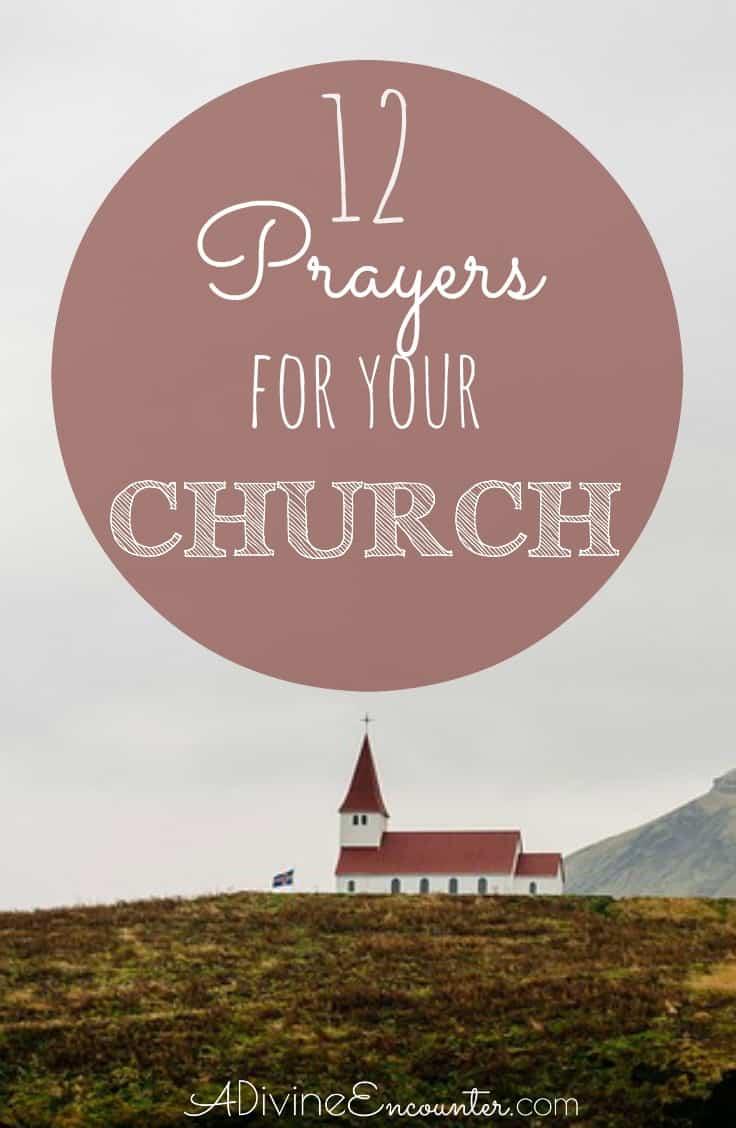 Prayer Your Church Target
