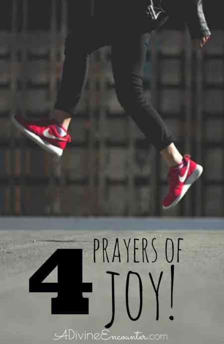 Our joy is refreshed with important truths about God. Offer these prayers of joy to the Lord, using Scripture as a guide to lift a prayer for joy.