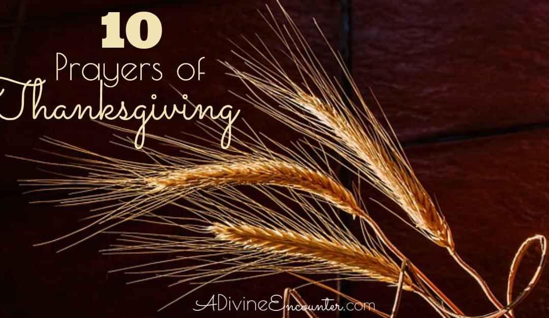 Praying the Scriptures: Prayers of Thanksgiving