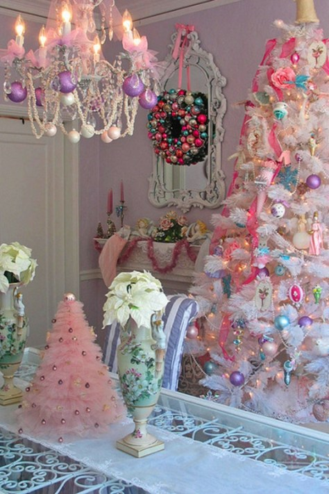Girly Christmas Tree Decorations