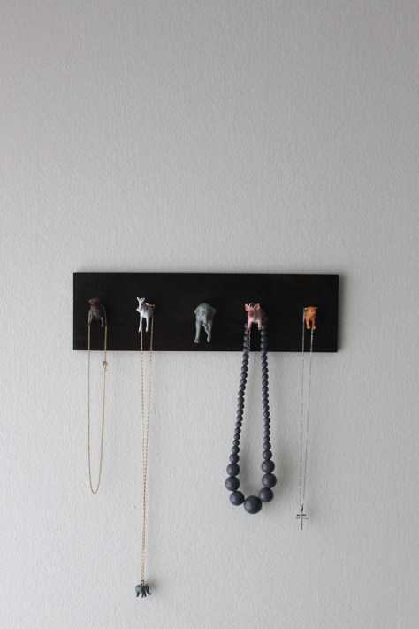 DIY Animal Jewelry Holder