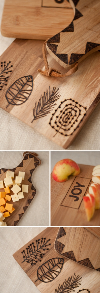 Etched Cutting Boards