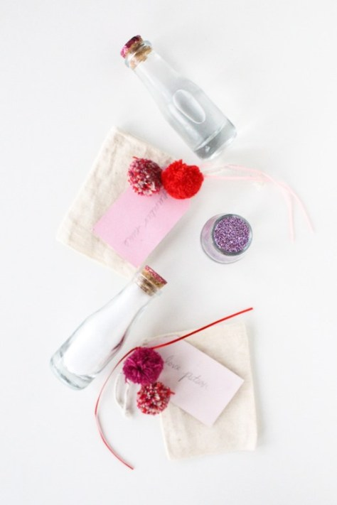 DIY Love Potion Bath Sets