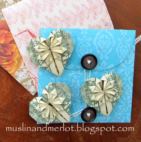 DIY Dollar Hearts