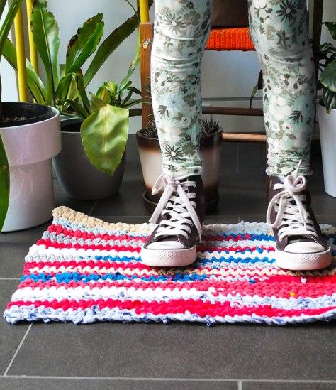 DIY Crochet T-Shirt Rag