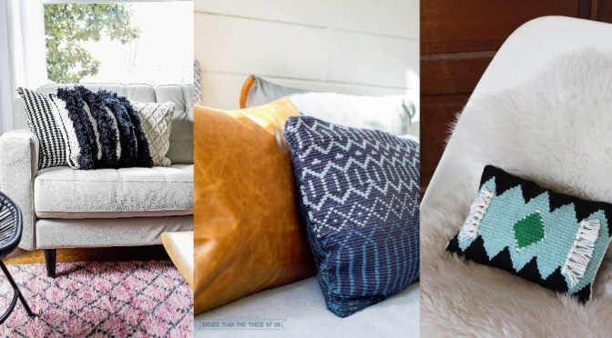 DIY Woven Pillow Making Tips With Tutorial