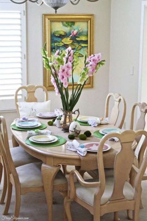 Elegant Easter Table