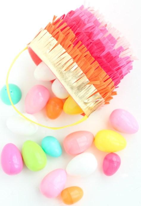 Felt Fringe Easter Basket