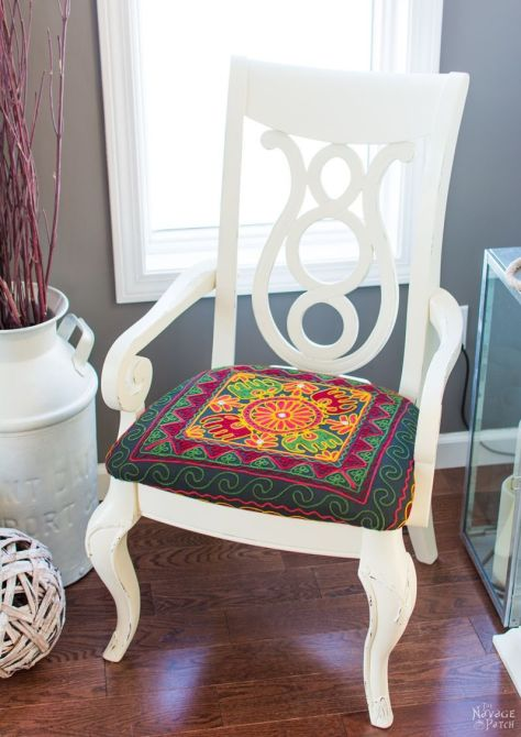 Accent Chair Makeover