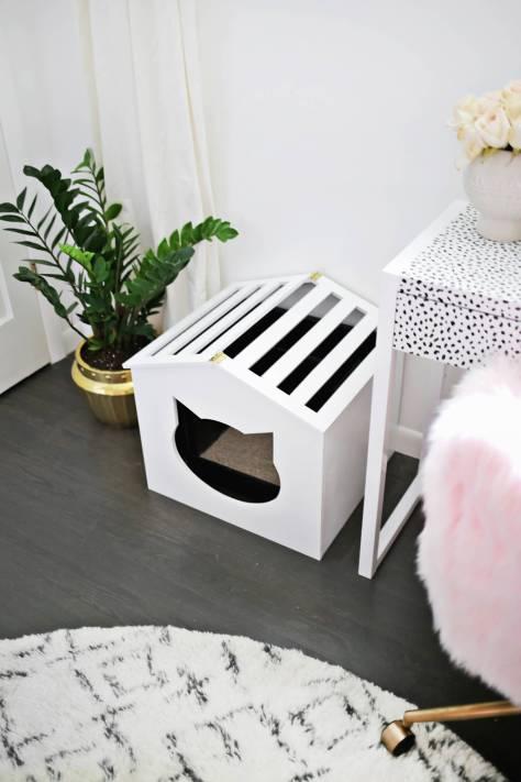 DIY Litter Box Cover