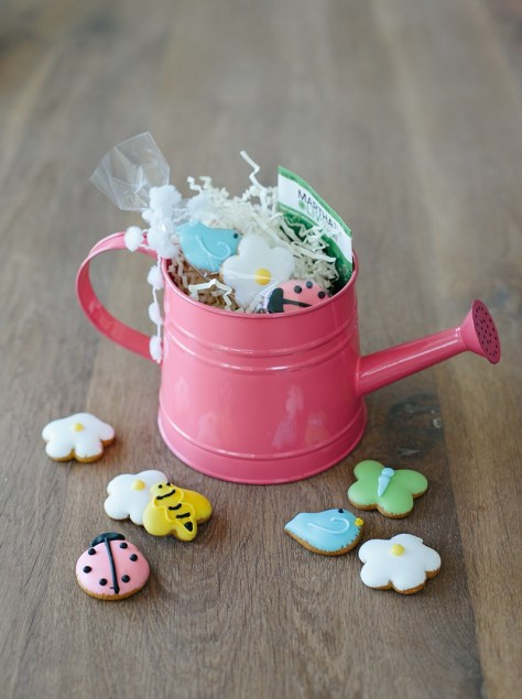 Spring Garden Cookie Basket
