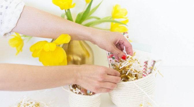 20 DIY Easter Basket Ideas For 2017