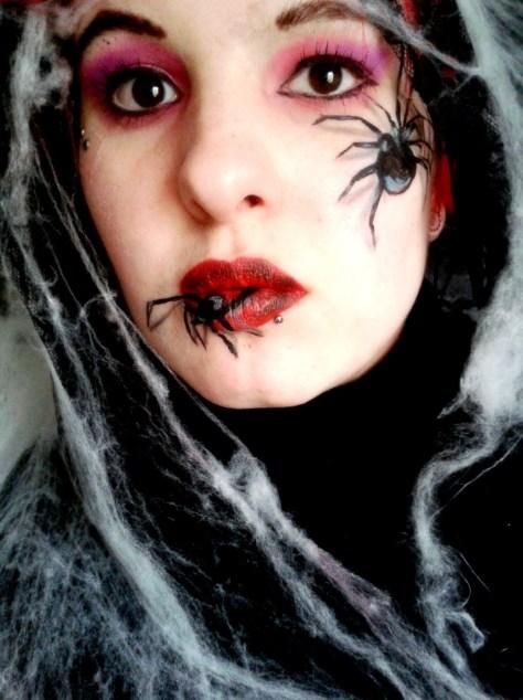 Spider Halloween Makeup
