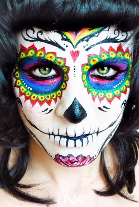 Catrina Halloween Makeup