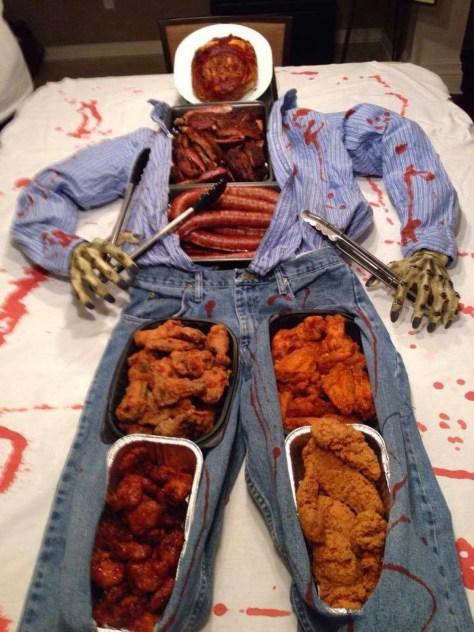 Halloween Party Buffet