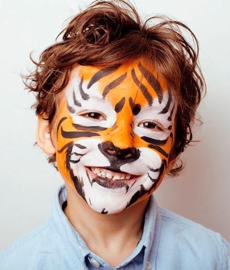 Tiger Halloween Makeup