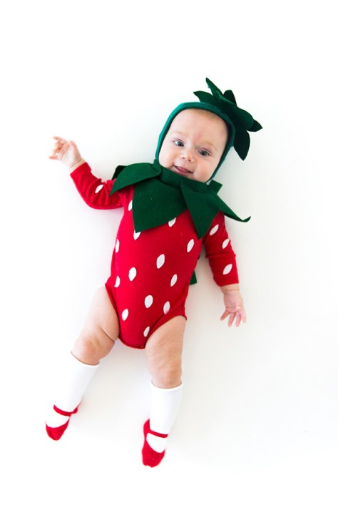 Strawberry Baby Halloween Costume