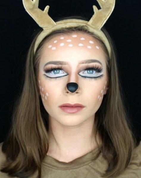 Affordable Deer Halloween Makeup