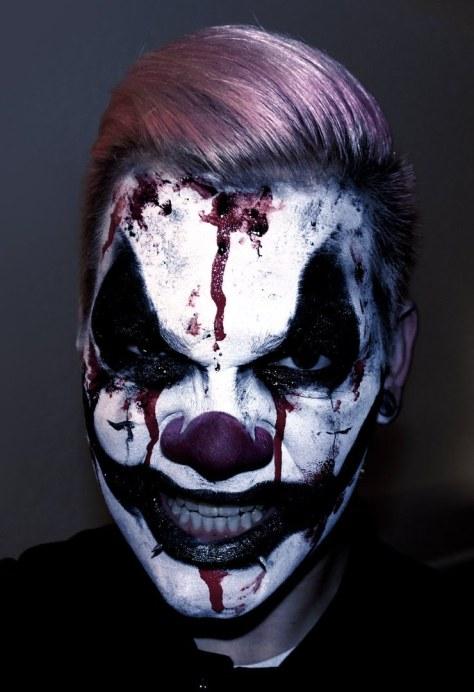 Creepy Halloween Makeup For Men