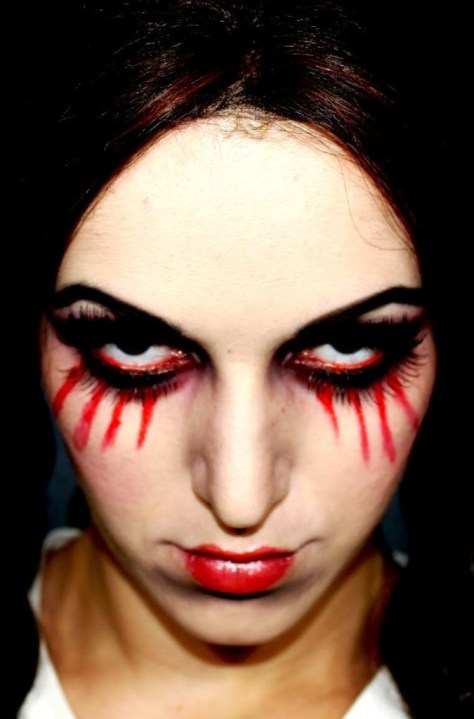 Living Dead Doll Halloween Makeup