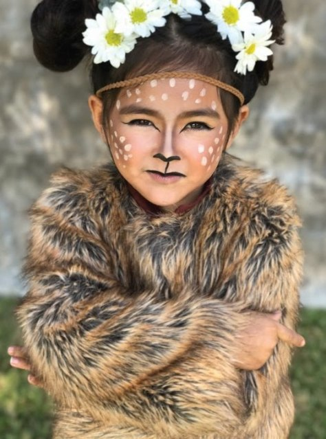 Baby Deer Halloween Makeup