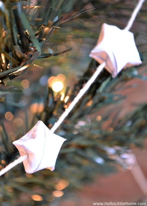 Lucky Star Garland