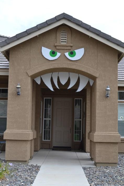 Monster House Halloween Decorations