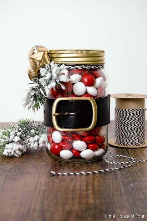 Santa Belt Jars