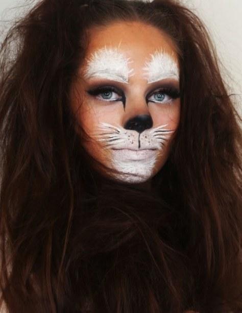 Bunny Inspired Halloween Makeup