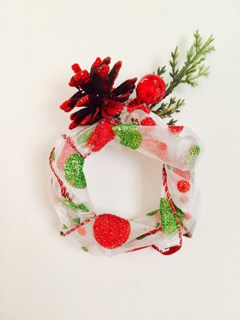 Wired Ribbon Ornament