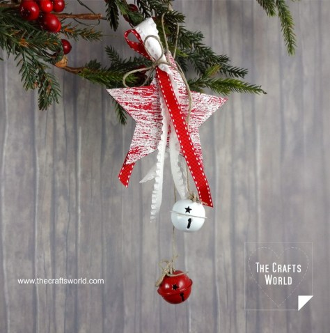 Jingle Star Ornaments