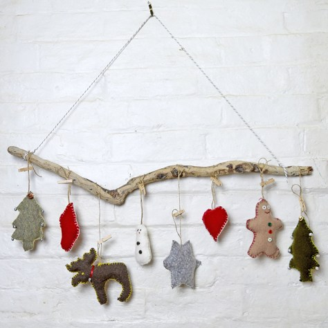 Sweater Upcycled Ornaments