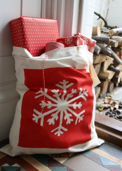 Hand Stenciled Tote Bags