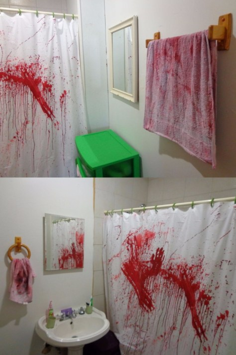 Bathroom Murder Scene