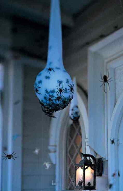Spider Egg Sac Halloween Decoration