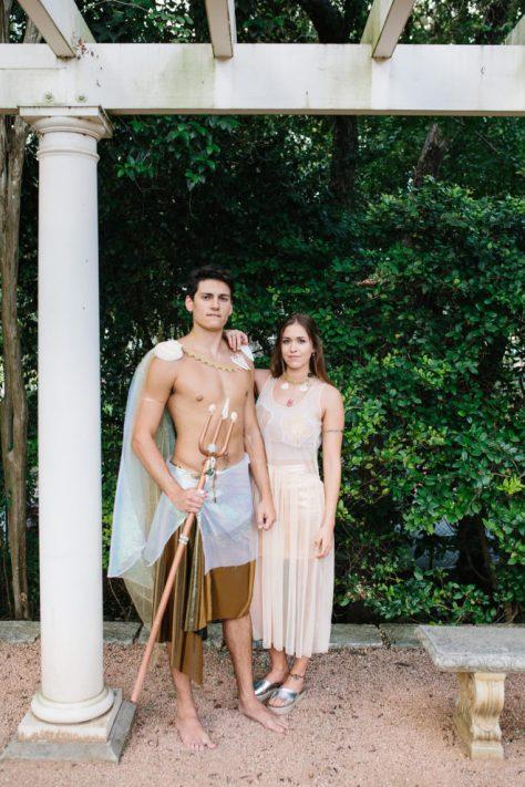 Mermaid & Merman Couples Costume