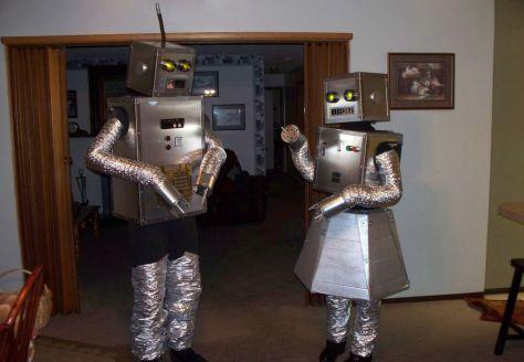 Robot Couples Halloween Costumes