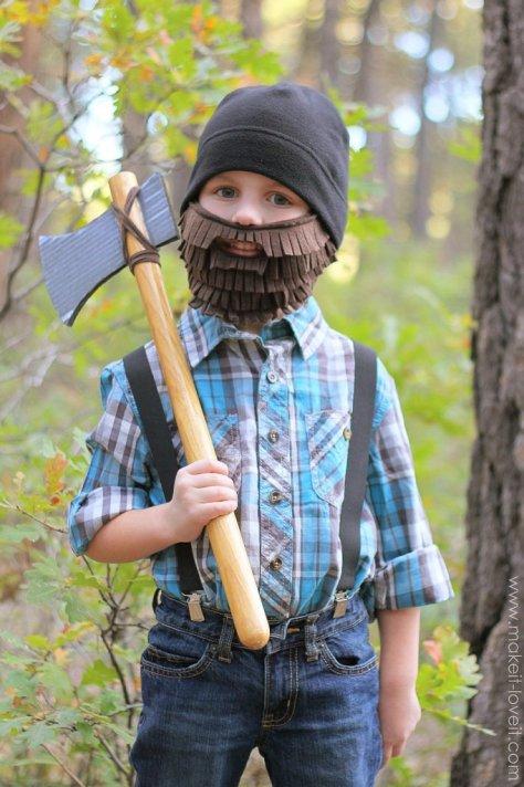 Lumberjack Halloween Costume