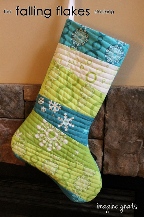 Falling Flakes Stocking