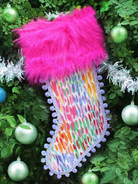 No-Sew Christmas Stockings